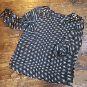 The Limited Studded Heart Blouse